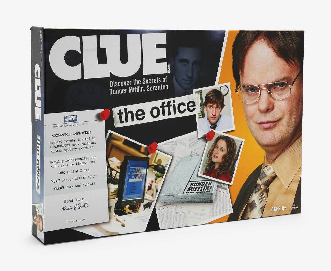 """""""The Office"""" themed Clue game"""