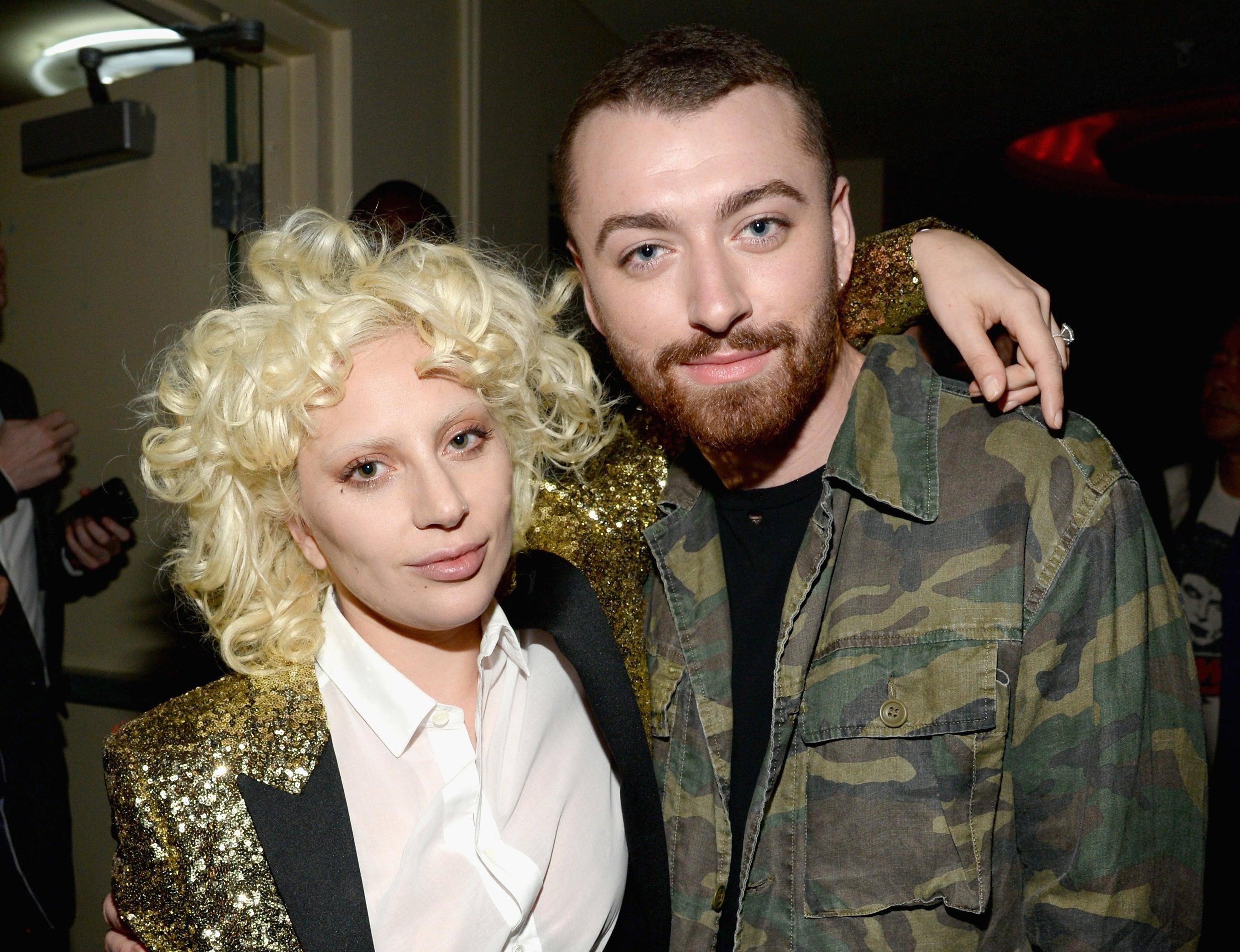 Lady Gaga and Sam Smith