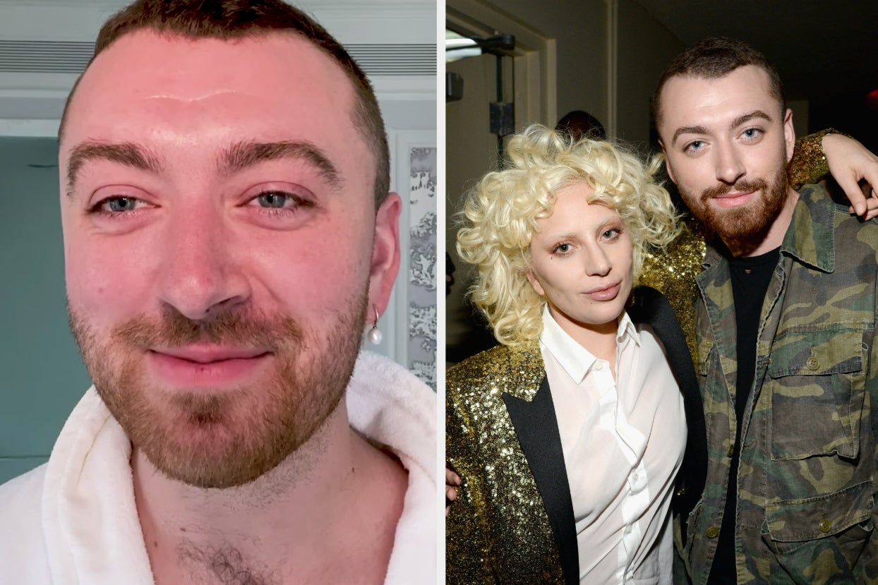 """Sam Smith Stated That Lady Gaga Is The Reason Why They """"Came To Terms With Their Gender"""""""