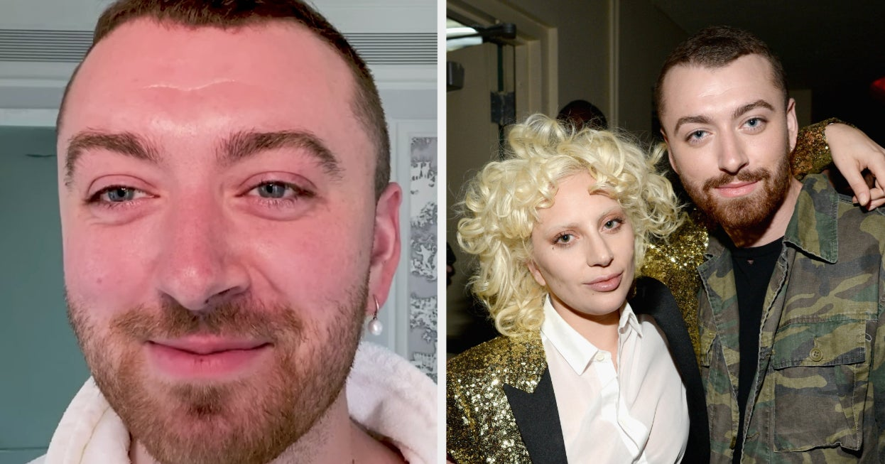 Sam Smith Revealed That Lady Gaga Is The Reason Why They Came Out As Non-Binary