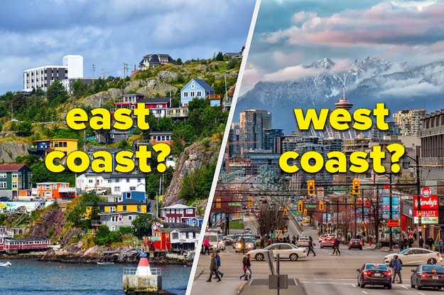 Your Double Denim Decision Will Determine If You Belong On Canada's East Or West Coast