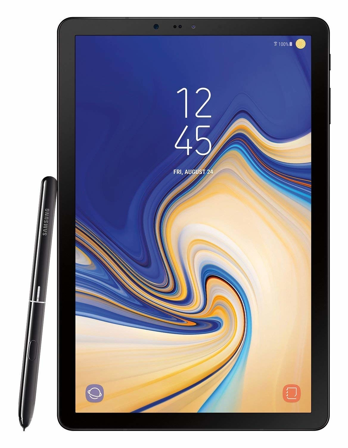 Tablet with S-Pen.