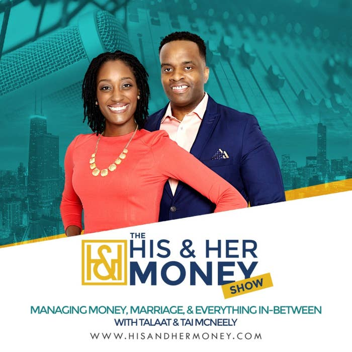 """Talaat and Tai McNeely, hosts of """"The His & Her Money Show"""""""