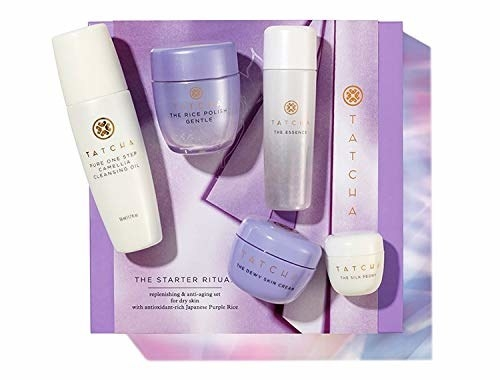 Tatcha's full starter set and packaging