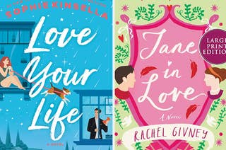 Love Your Life book cover / Jane in Love book cover