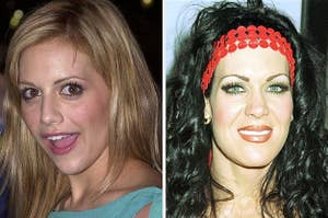 Brittany Murphy and Chyna
