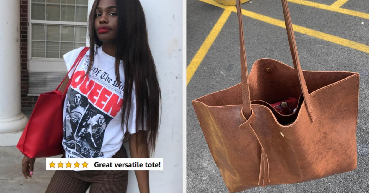 This Basic Tote Bag Is 58% Off And Available In Over 100 Colors