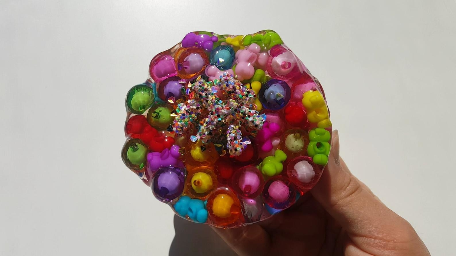The candy crystal slime
