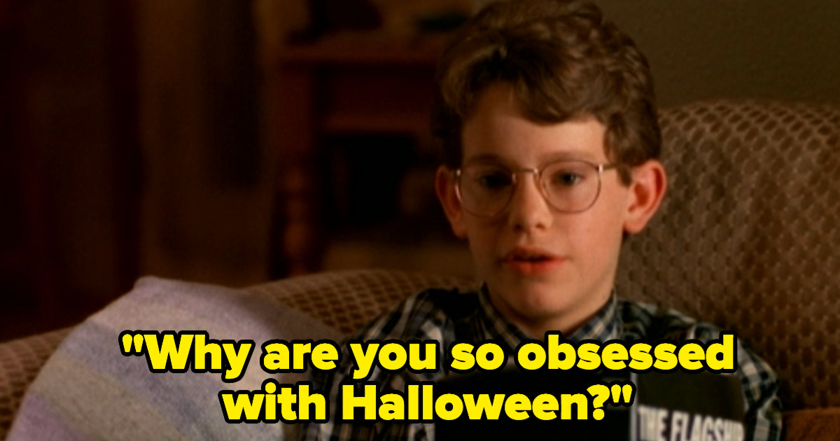 Dylan asking why Marnie is so obsessed with Halloween