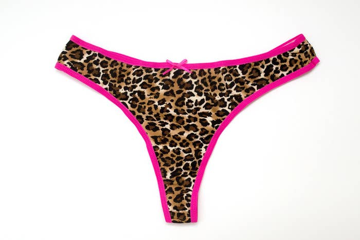 An example of a thong
