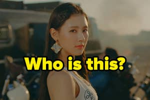 An image of Miyeon from GIDLE
