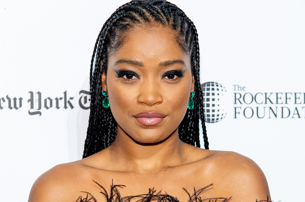 Keke Palmer Showed Off Her Natural Hair And Looks Absolutely Gorgeous