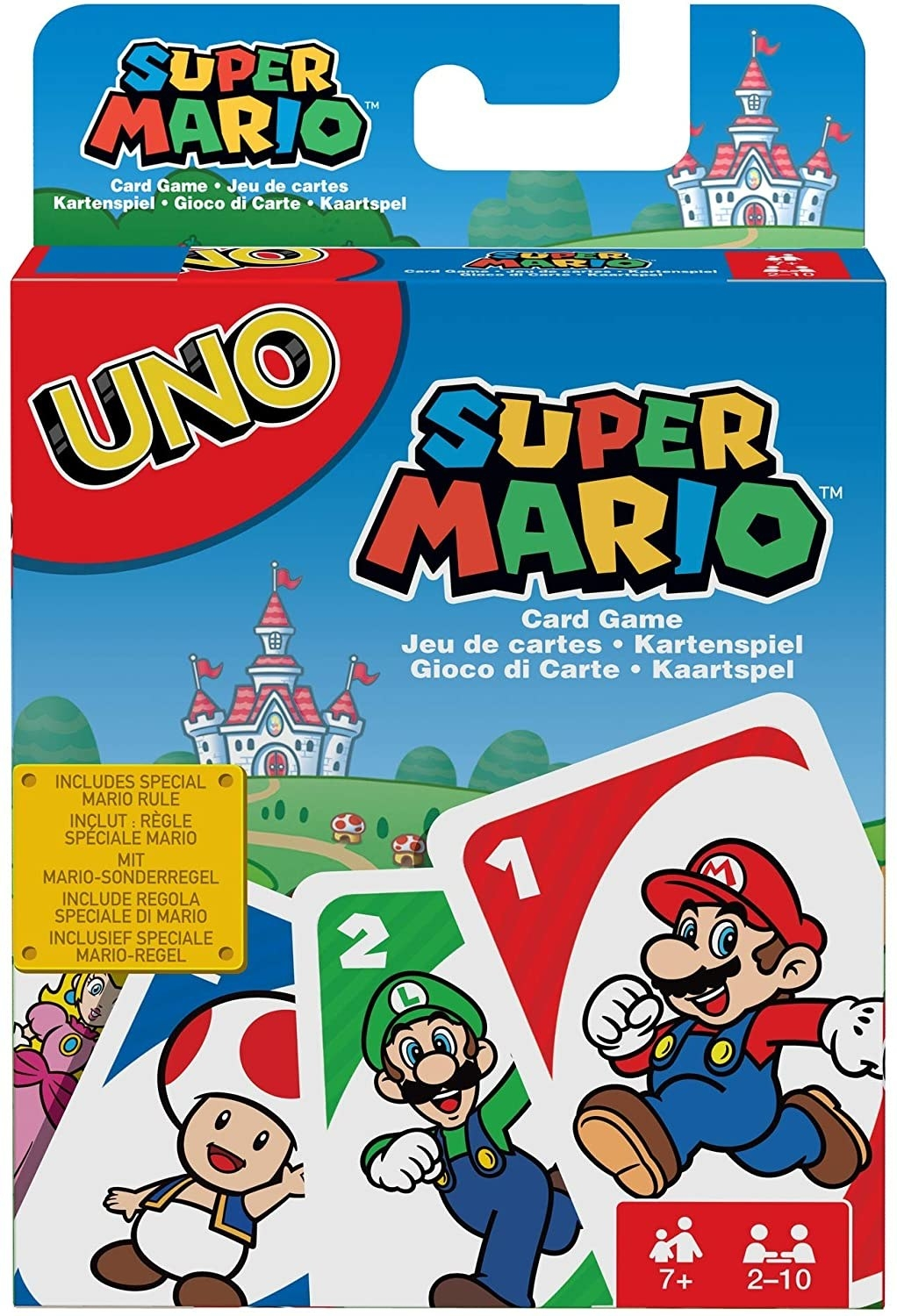 A pack of UNO cards