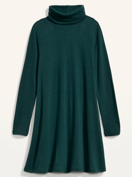 the dress in green