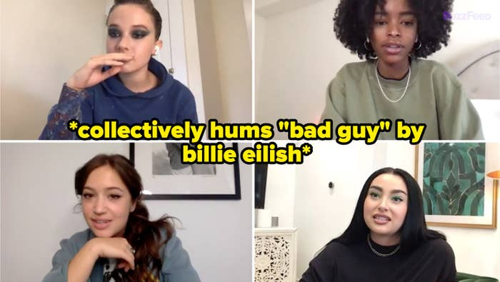 """collectively hums """"bad guy"""" by billie eilish"""
