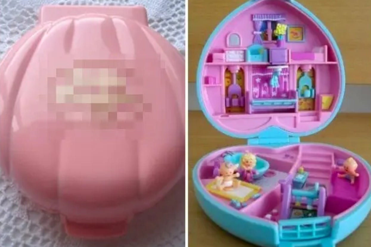 A Polly Pocket toy from the '90s