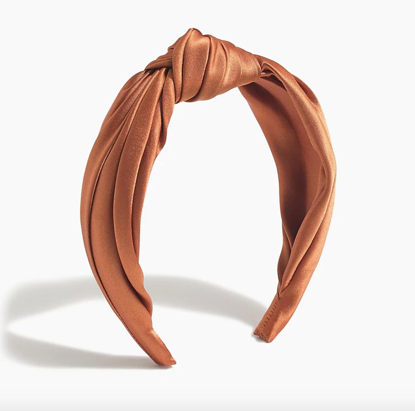 the headband in copper