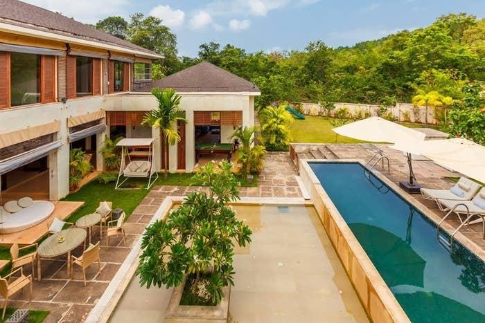 Luxury villa in Goa Assagao with rivate pool
