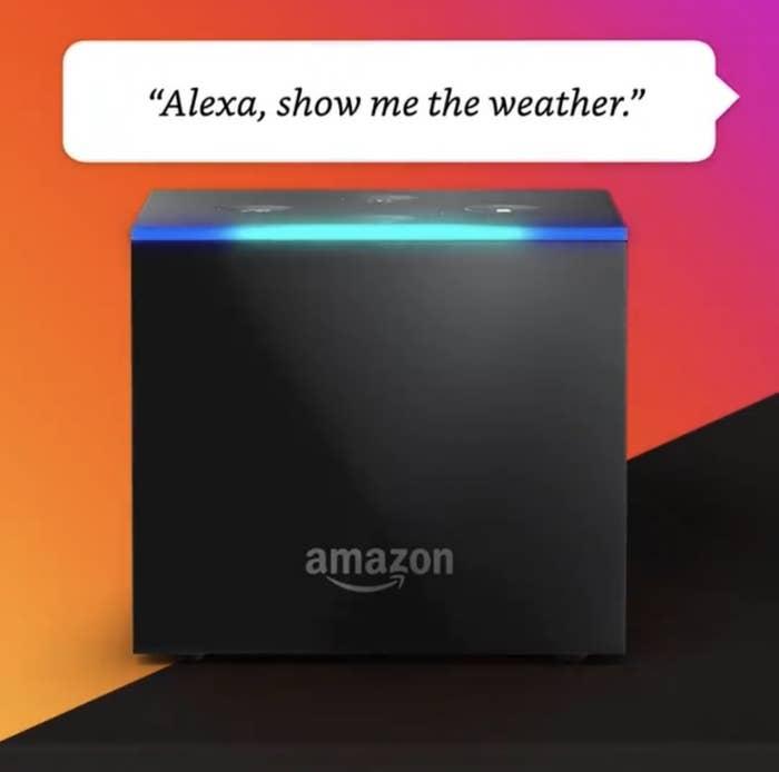 The Amazon Fire Cube