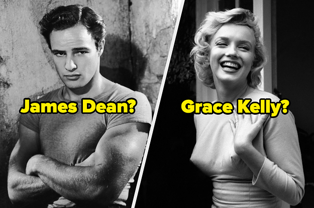 I Bet You Recognize All Of These Old Hollywood Stars' Names And Absolutely None Of Their Faces