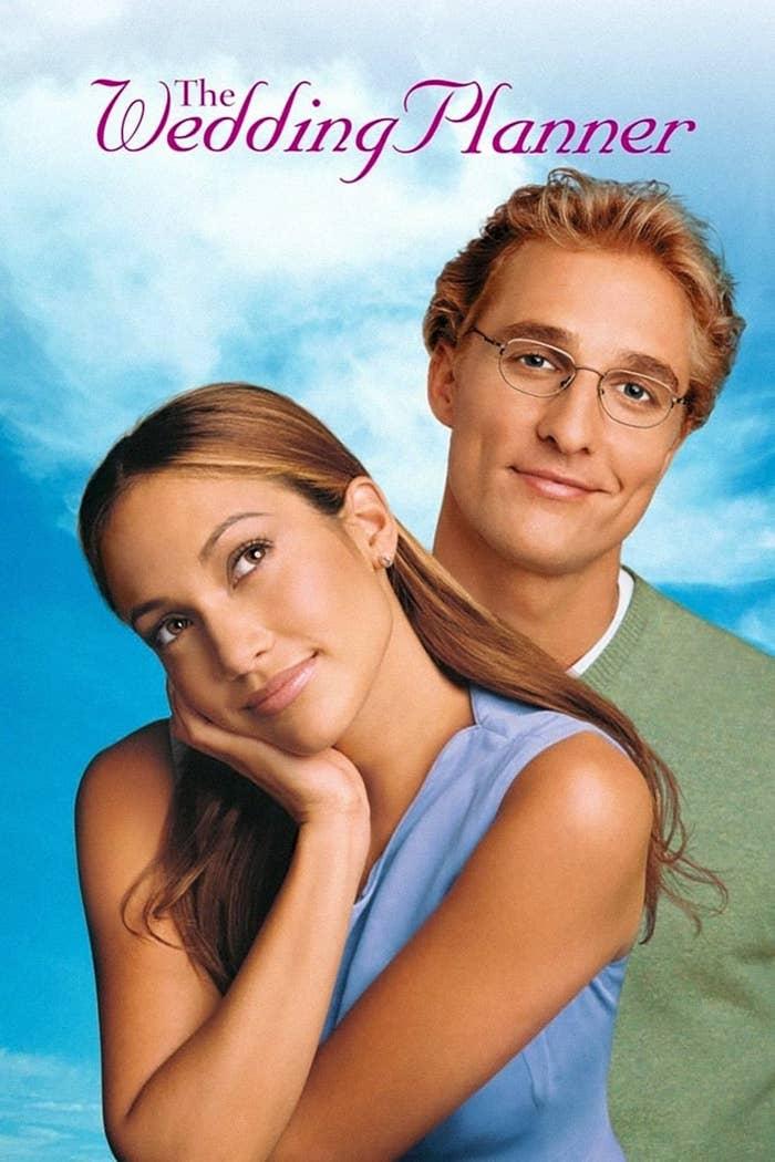 Jennifer and Matthew McConaughey in The Wedding Planner
