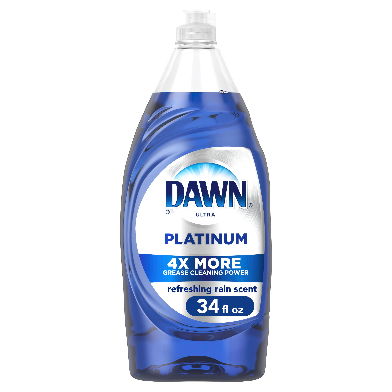 The liquid dish soap