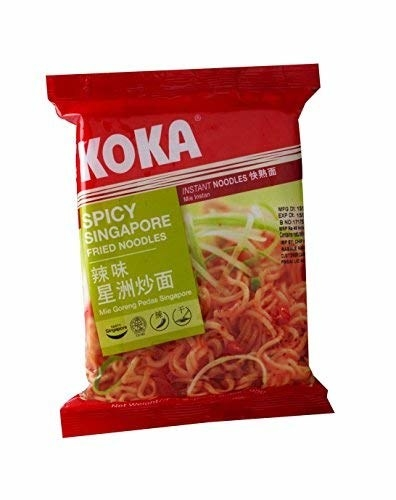 Packaging of the noodles