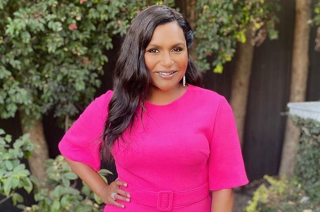 Mindy Kaling Shared A Rare Photo Of Her Daughter At A Pumpkin Patch And It's So Cute