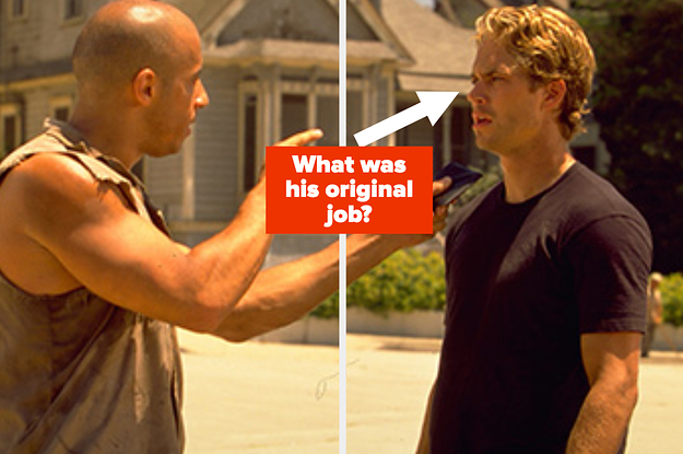 "How Well Do You Remember The ""Fast & Furious"" Movies?"