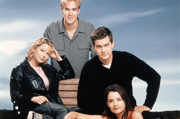 "53 Thoughts I Had Rewatching The ""Dawson's Creek"" Pilot As An Adult"
