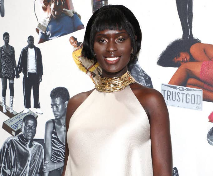 "Jodie Turner-Smith attends the ""Queen & Slim"" UK Premiere"
