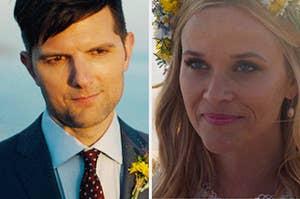 梅德琳和艾德从《大小谎言》中重温了他们的誓言