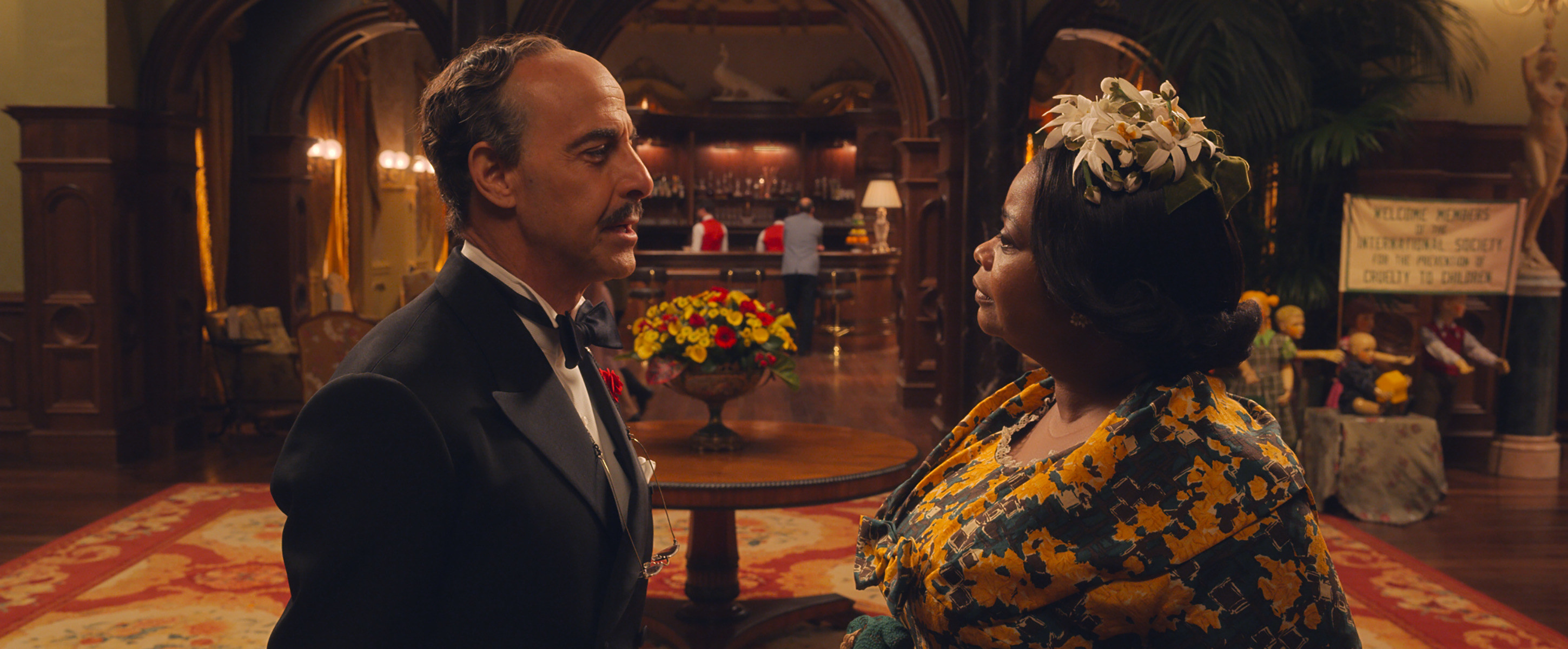 Stanley and Octavia Spencer in The Witches