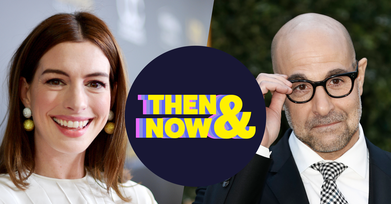 """Anne Hathaway And Stanley Tucci Shared Their Fav Memories, Outfits, And Lines From """"The Witches"""" And """"The Devil Wears Prada"""""""