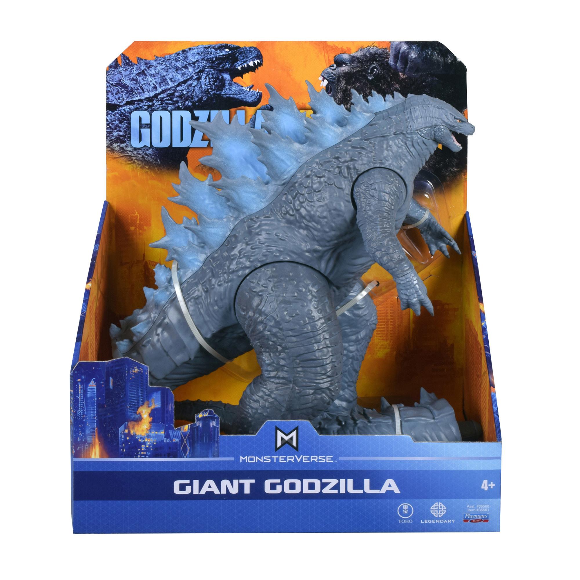 A Godzilla figure