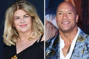 kirstie alley and the rock