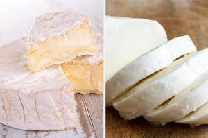 布里奶酪和马苏里拉奶酪