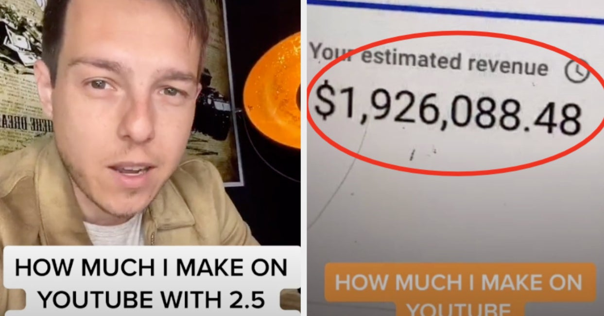 A Real Estate YouTuber Just Shared How Much He Makes Per Year And — I'll Be Honest — It's A Ton