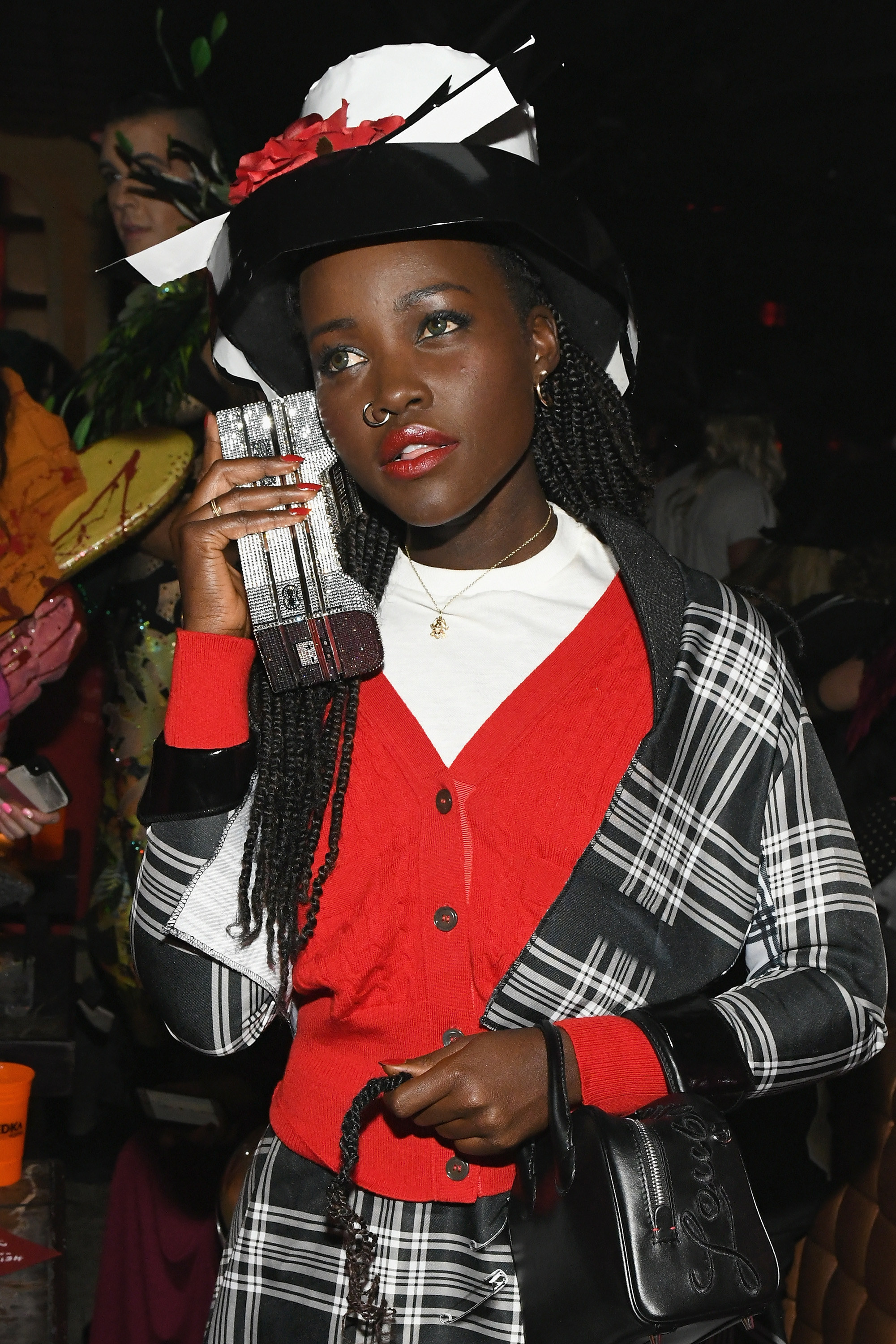 Lupita Nyong'o dressed up as Dionne from Clueless.