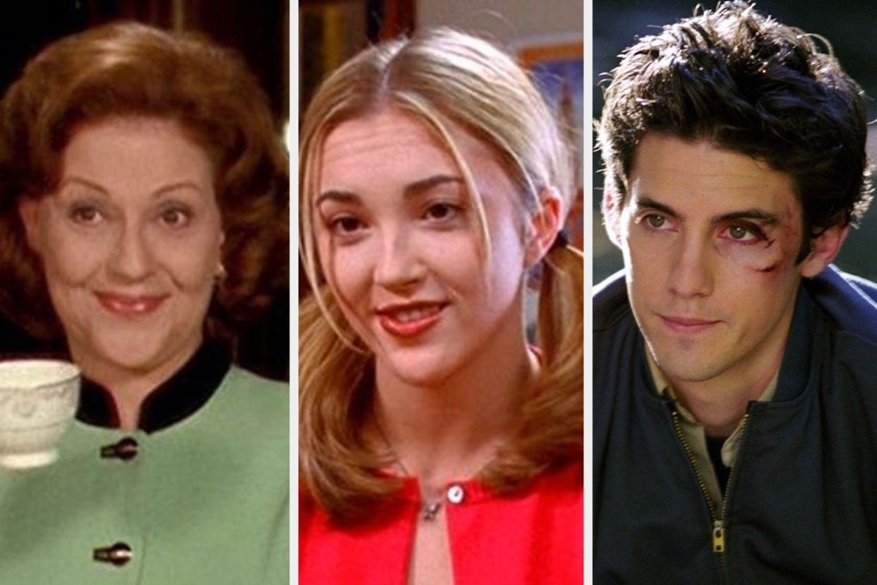 """A variety of characters from """"Gilmore Girls"""""""