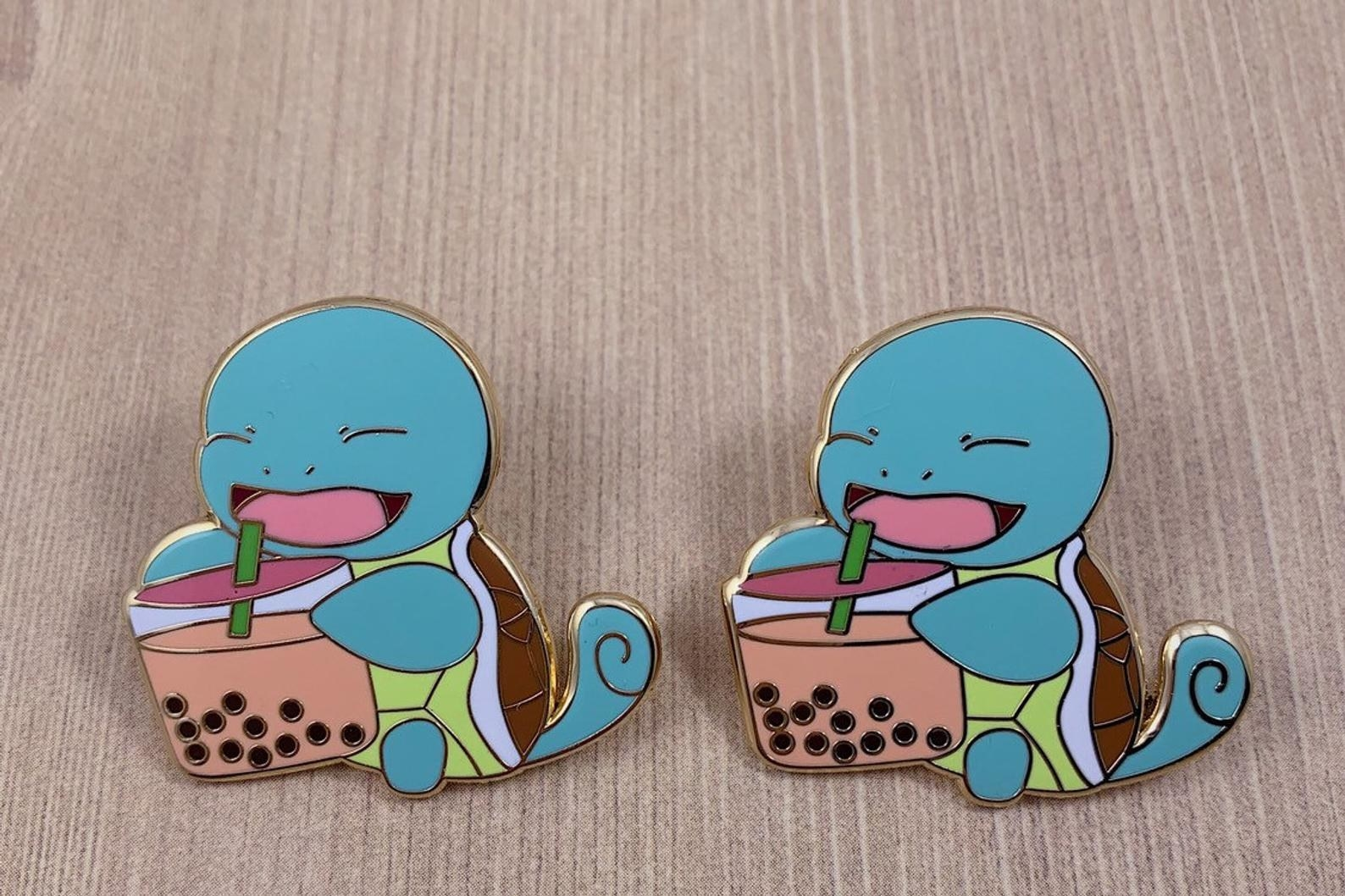 the Squirtle pins
