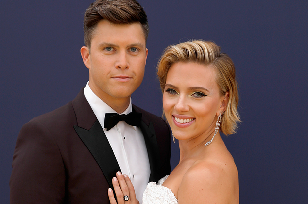 Scarlett Johansson And Colin Jost Got Married In An Intimate Wedding Ceremony