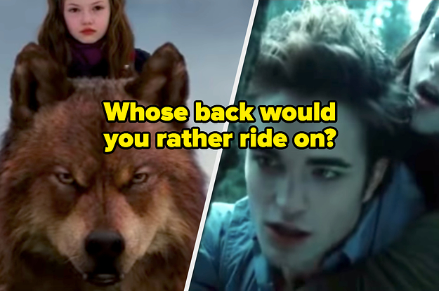 "These 13 ""Twilight"" Character ""Would You Rather"" Questions Might Start Some Fights"