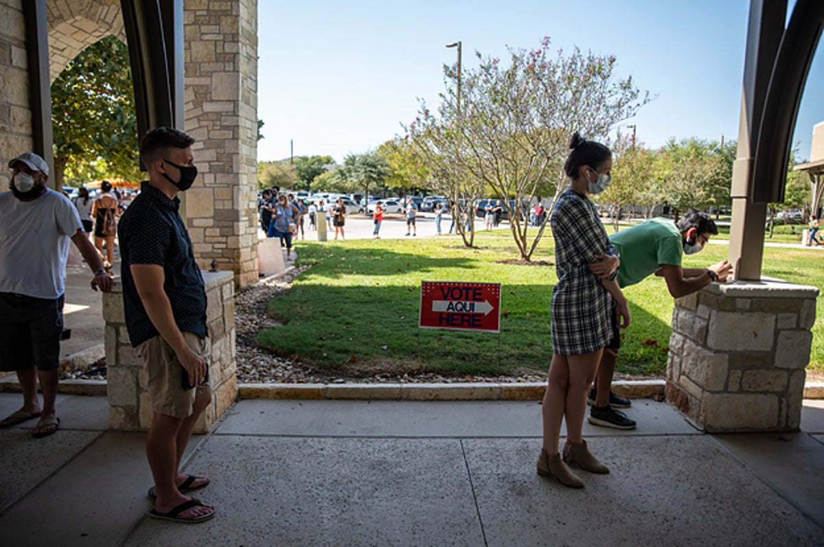 Texans Don't Have To Wear A Mask At The Polls, A Federal Appeals Court Ruled