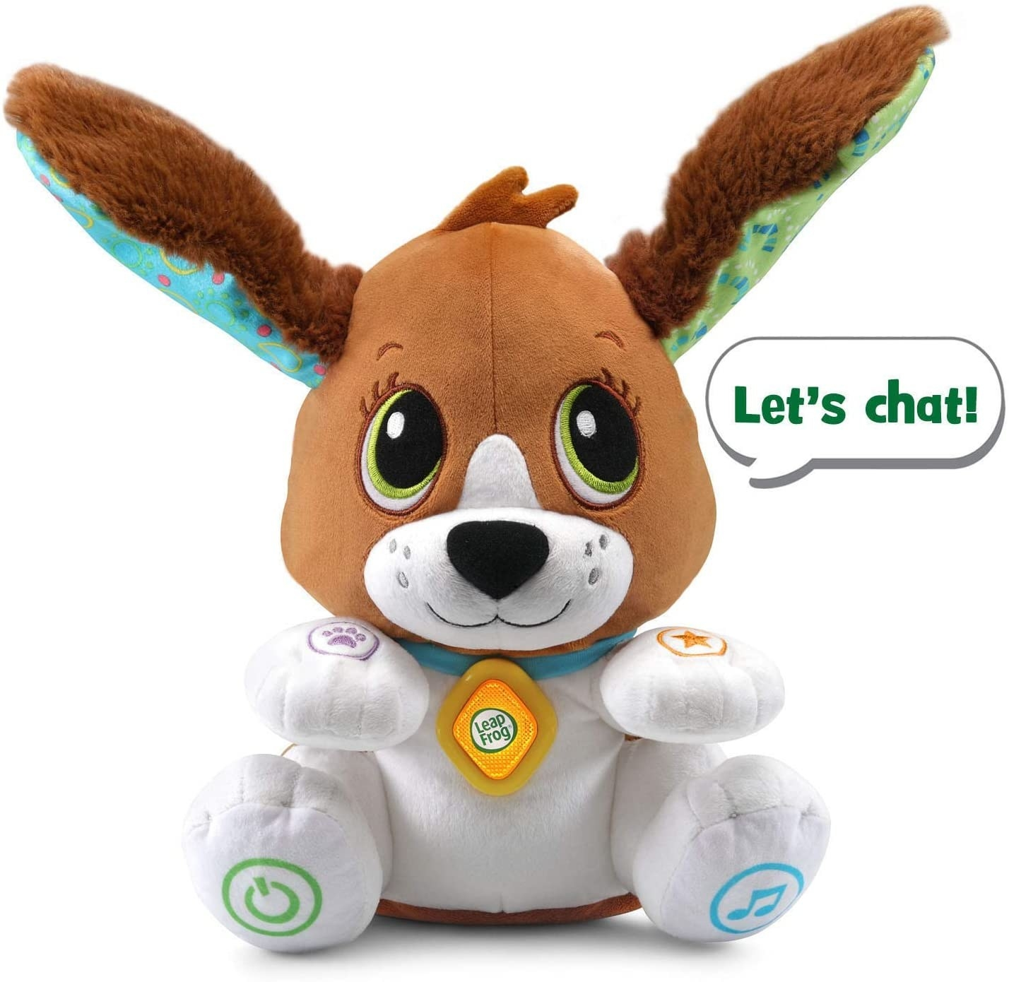 The Leapfrog speak and learn puppy