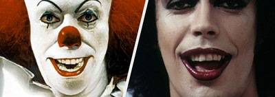 Pennywise from IT and Dr. Frank-N-Furter from The Rocky Horror Picture Show