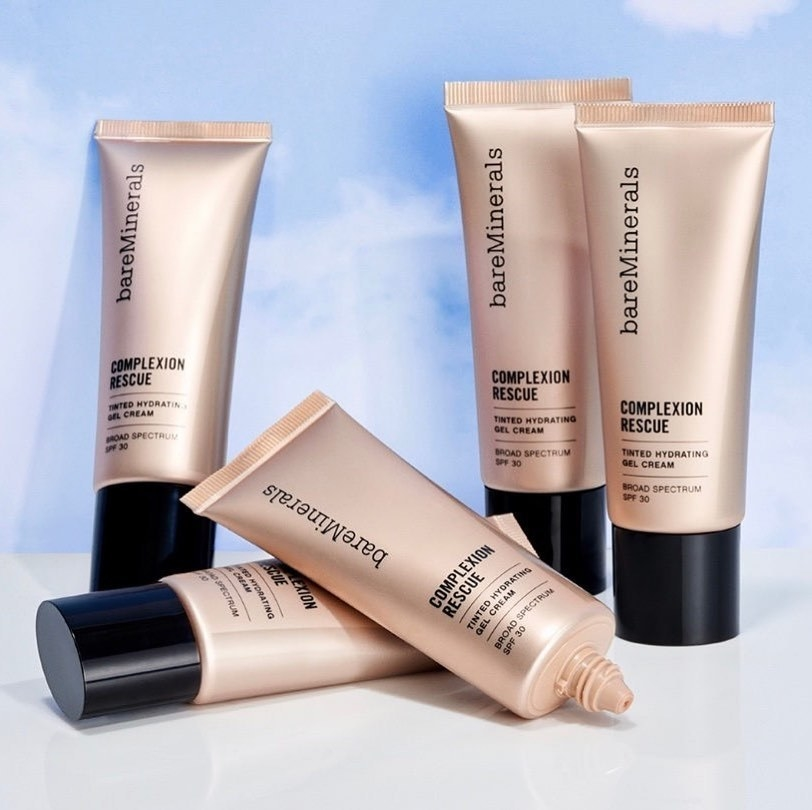 tubes of BareMinerals Complexion Rescue