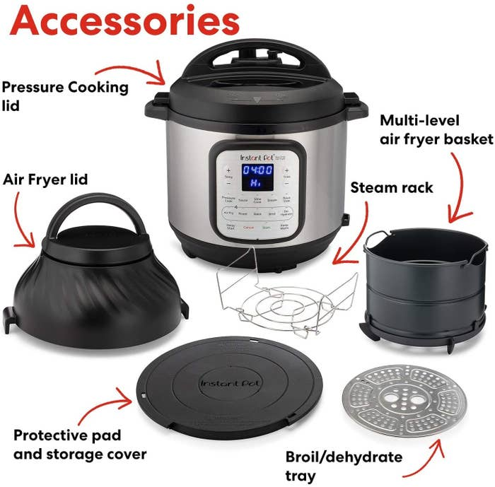 the Instant Pot, accessories