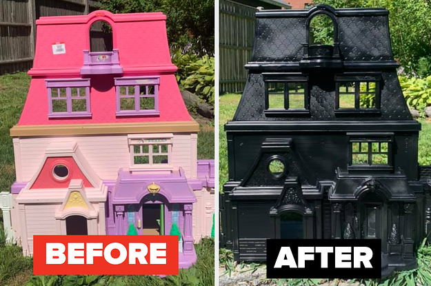 These DIY Haunted Dollhouses Are Perfect For Halloween