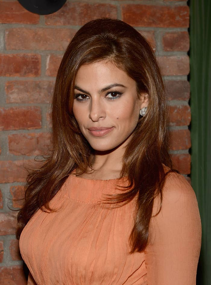 "Eva Mendes attends the after party for ""The Place Beyond The Pines"